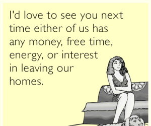funny, introvert, and someecards image