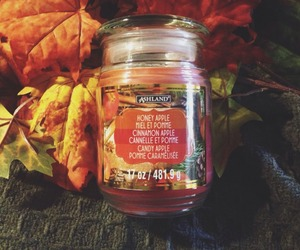 autumn, candles, and colors image