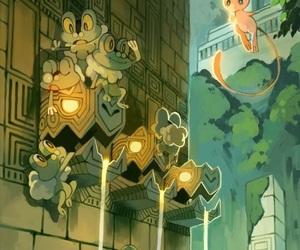 pokemon, froakie, and mew image