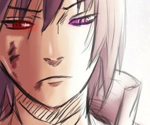 anime, fan art, and sasuke image