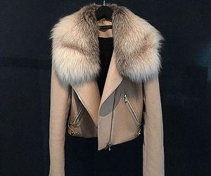 fashion, jacket, and fur image