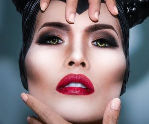 cosmetics, disney, and Halloween image