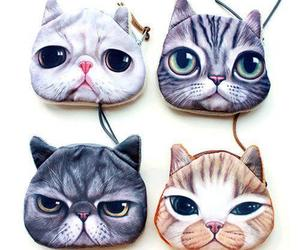 cat print dress, cat coin purse, and gift ideas for cat lovers image