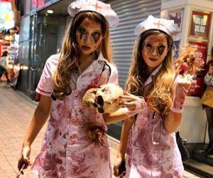 costume, fashion, and Halloween image