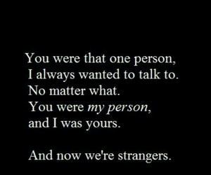 quotes, love, and strangers image