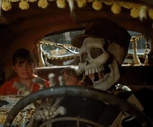 gif, skeleton, and Halloween image