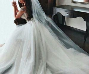 wedding, beauty, and bride image