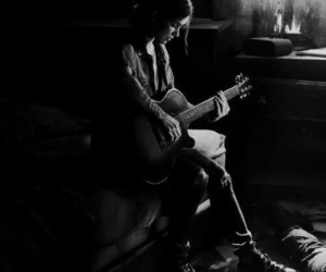game, the last of us 2, and guitar image
