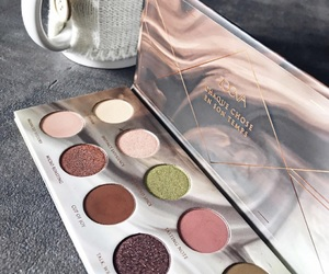 beauty, makeup palette, and eyes shadow image