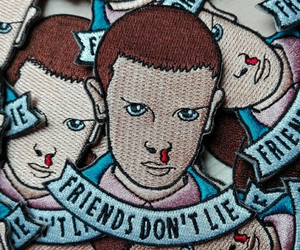 patch, series, and stranger things image