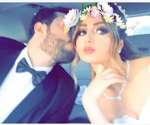 love, couple, and حُبْ image