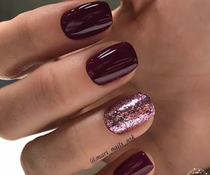beauty, pink, and burgundy image