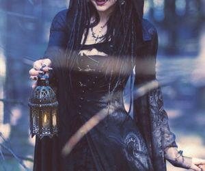 gothic, witch, and black image