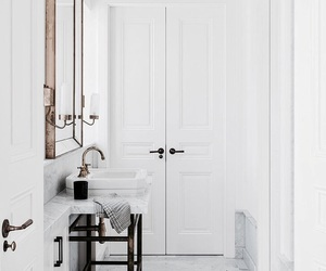 bathroom, home, and inspiration image