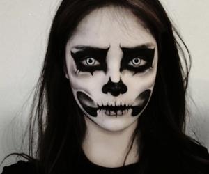 Halloween, makeup, and asian image