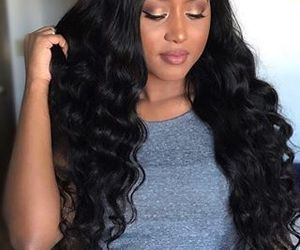 deep wave hair bundles, curly hair care products, and lace frontal wigs image