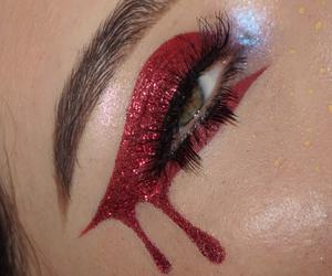bleed, makeup, and eyeliner image