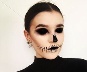 costume, dead, and eyeliner image