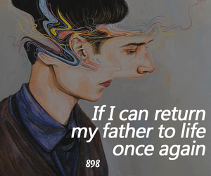 dad, father, and quote image