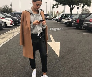 clothes, coat, and girl image