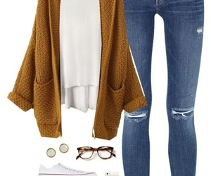 autumn, beauty, and outfit image