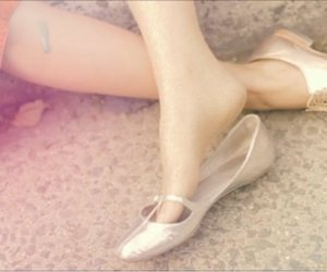 faded, heels, and pearl image