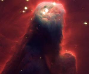 space, Cone Nebula, and stars image
