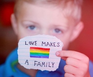 family, lgbt, and love image