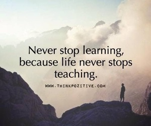 quotes, life, and learning image
