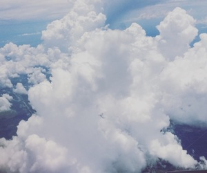 aesthetic, beautiful, and clouds image