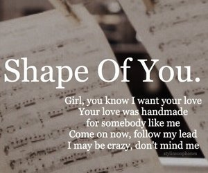 shape of you, divide, and music image