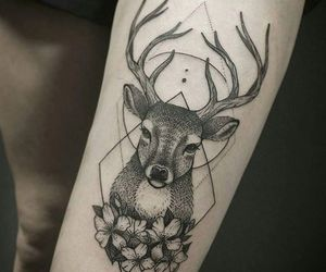 28 Images About Deer Tattoo On We Heart It See More About