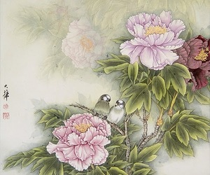 art, china, and eastern image