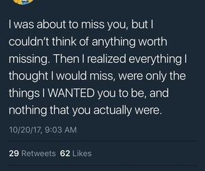 miss, tumblr, and tweet image