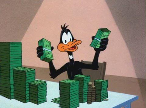 money, cartoon, and cash image