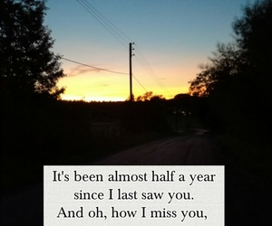 long distance and missing him image