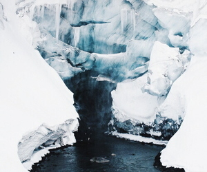 blue, ice, and white image