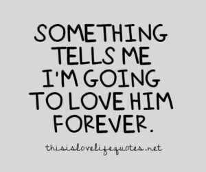 love, quotes, and him image