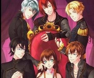 anime girl, fanart, and game image