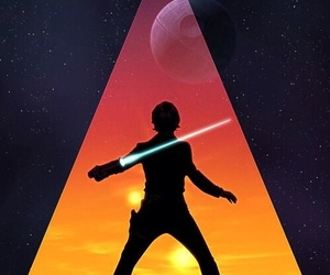 star wars, wallpaper, and luke skywalker image