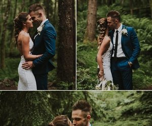 couple, first, and true love image
