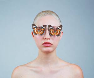 butterfly, tyler shields, and girl image