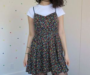 dress, grunge, and outfit image