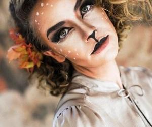 Halloween, makeup, and maquillaje image