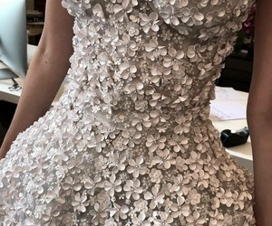 bride, style, and wedding dress image