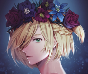 yuri on ice, yurio, and yuri plisetsky image