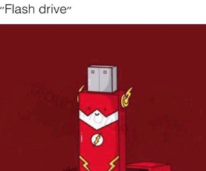 cw, flash drive, and funny image
