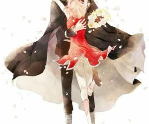 anime, sasusaku, and love image