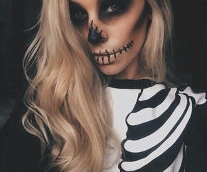 Halloween, makeup, and beauty image