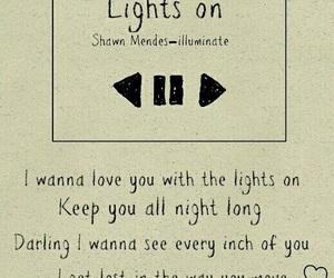 Lyrics, shawn mendes, and song image